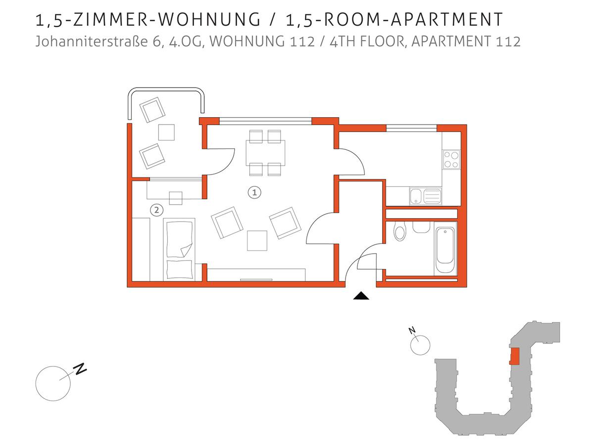 Grundriss 112 | Johanniterstraße