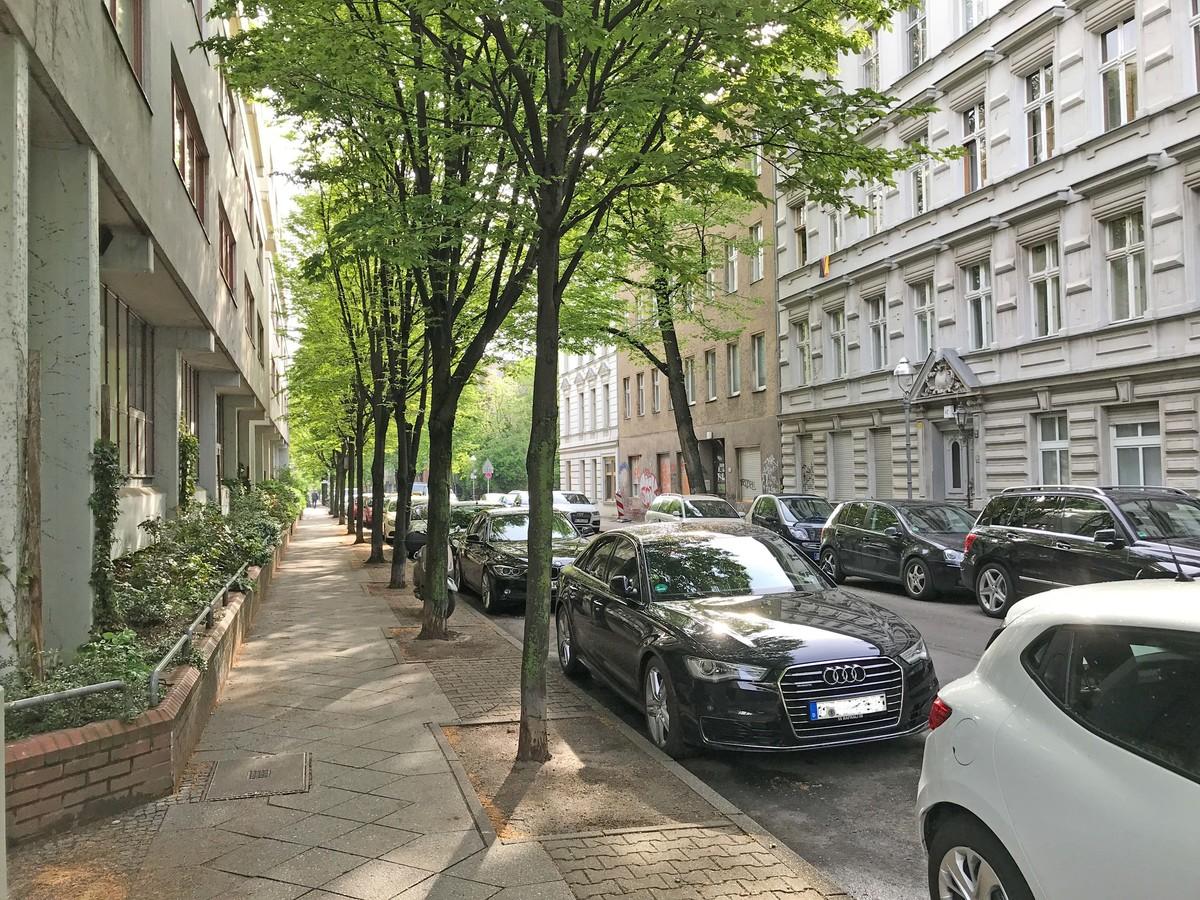 Grüne Wohnstraße | Kopfstraße