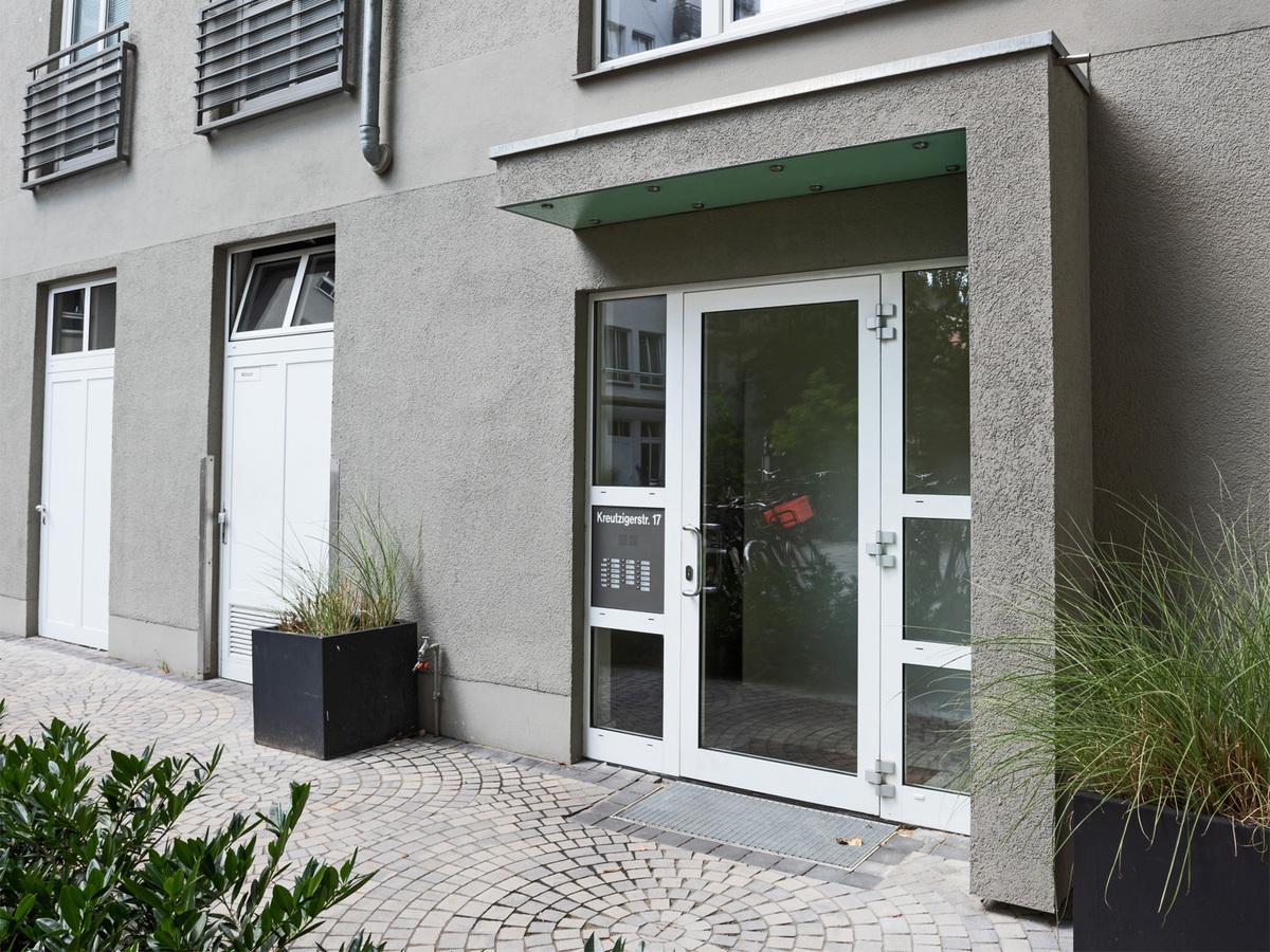 Hauseingang | Kreutzigerstraße