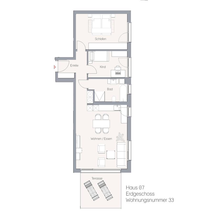 Haus 07 EG WE33 | Hauptstraße