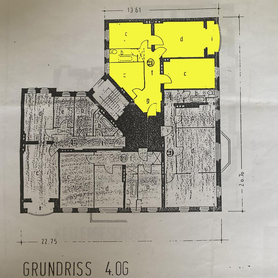 Grundriss | Harzer Straße