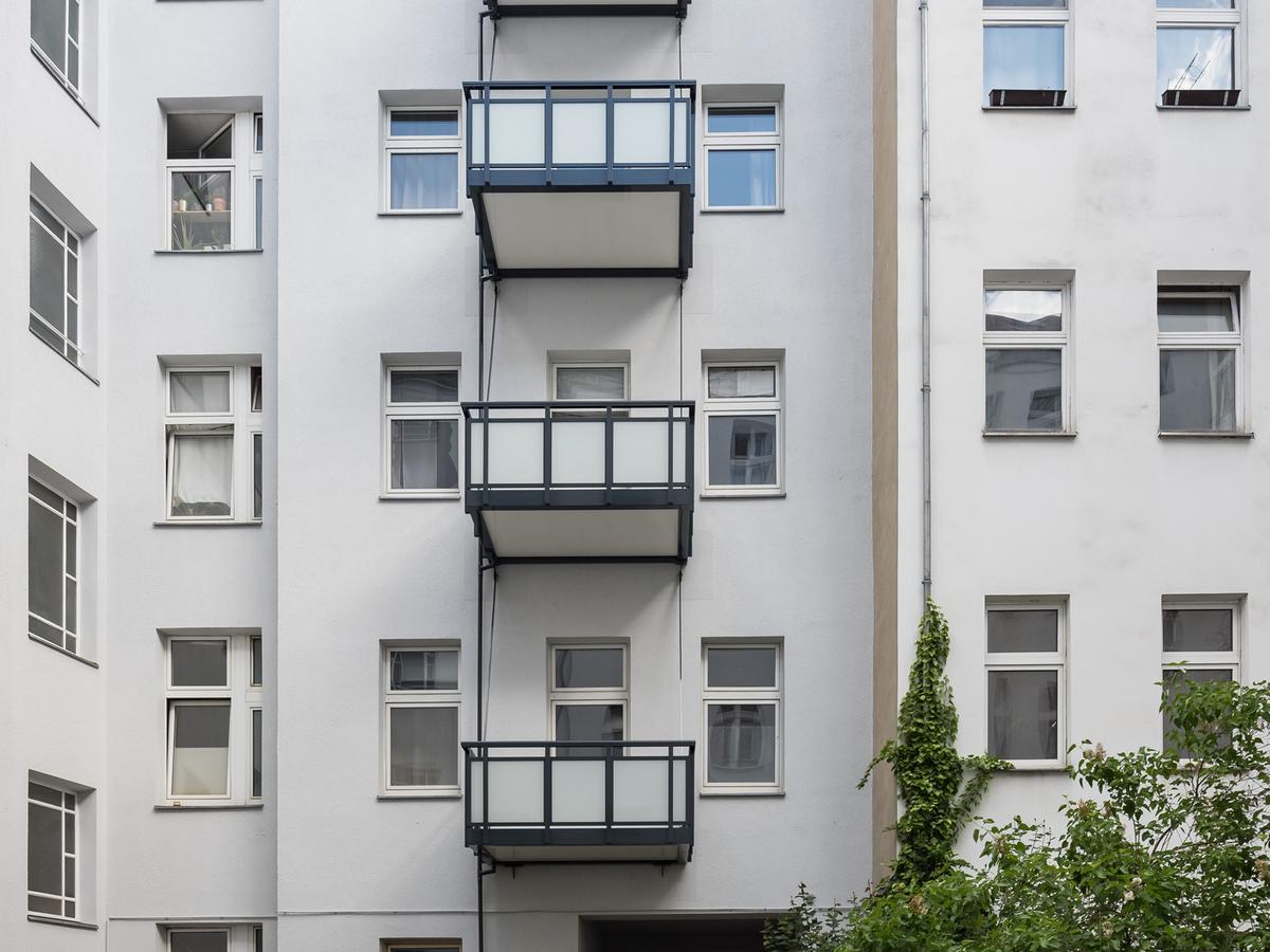 Hoffassade | Erasmusstraße