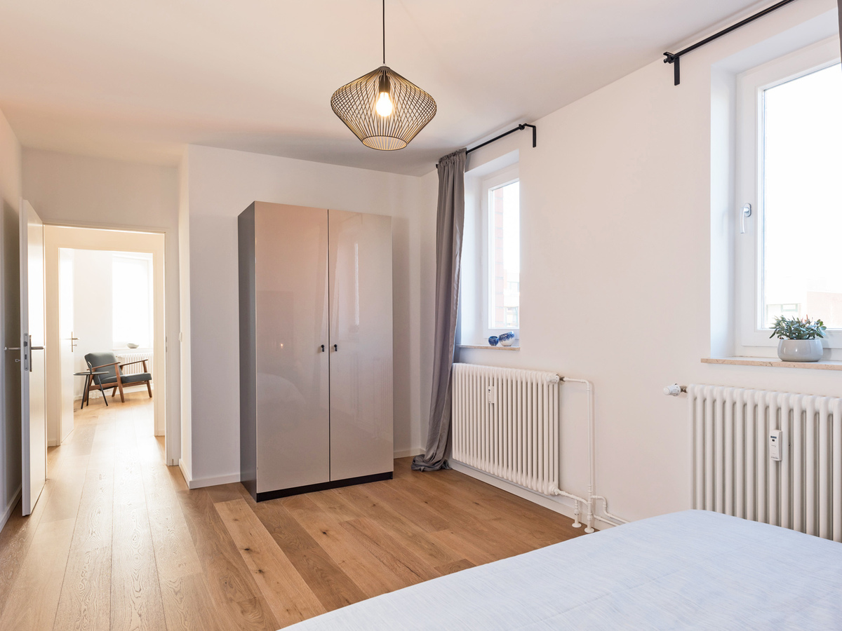 Example apartment bedroom | Bachstraße