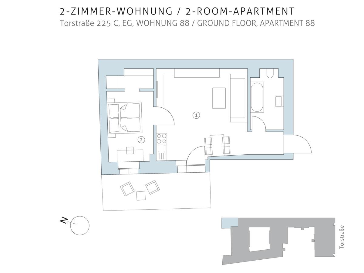 Floor plan unit 88   Torstraße