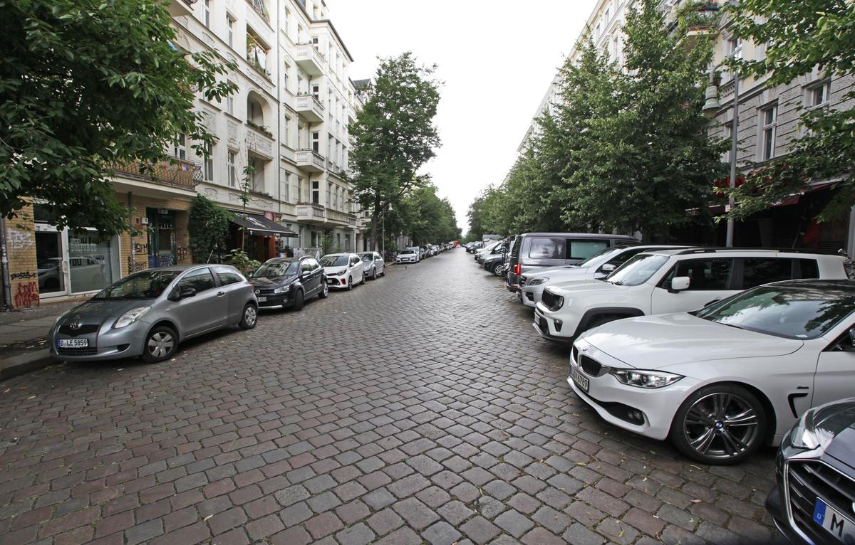Straßenansicht   Lychener Straße