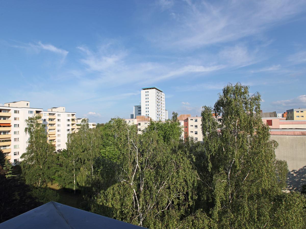 Ausblick Balkon | Celsiusstraße