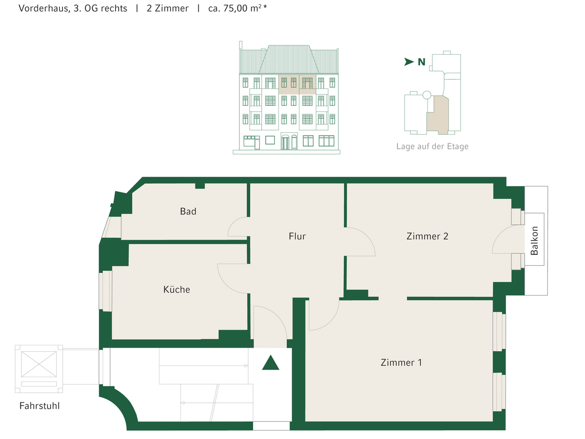 Floorplan Unit 07 | Johannisberger Straße