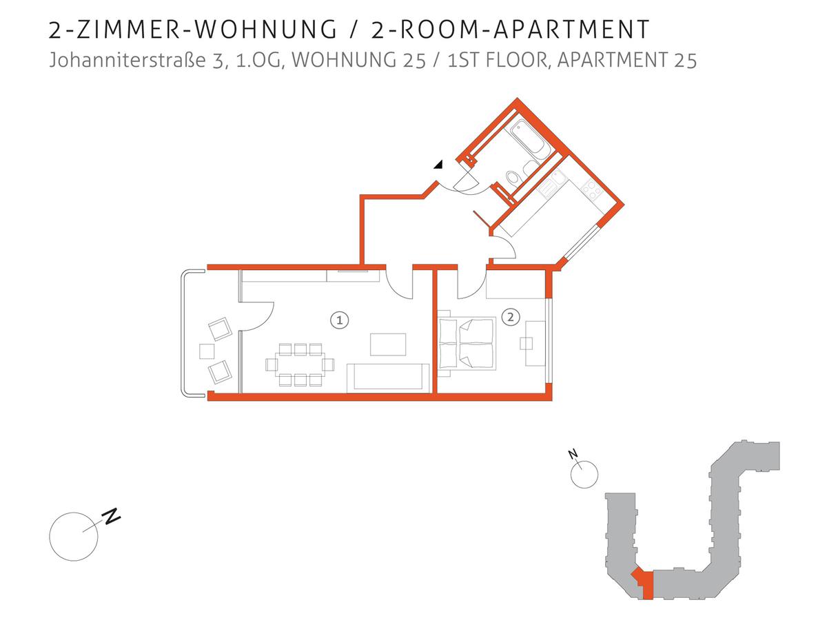 Grundriss 25 | Johanniterstraße