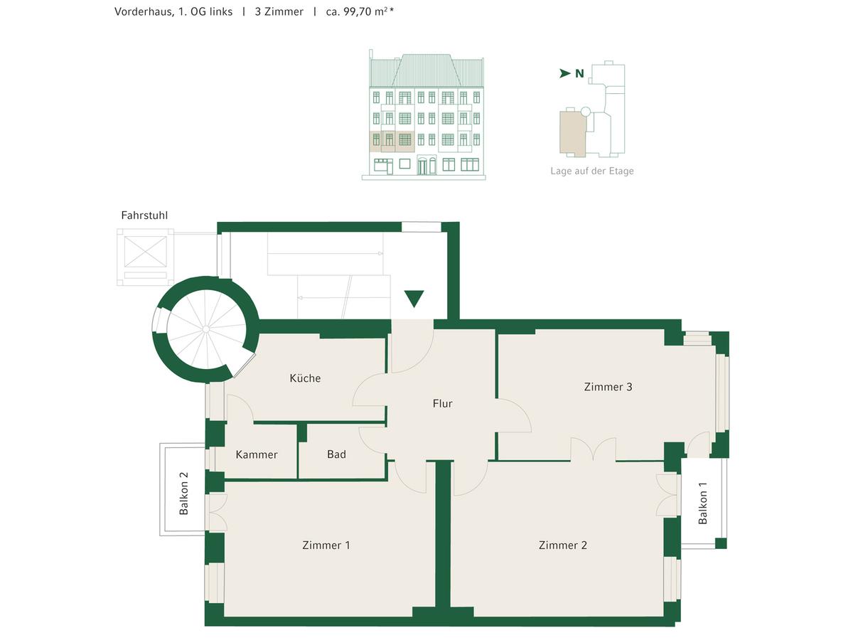Floorplan Unit 04   Johannisberger Straße
