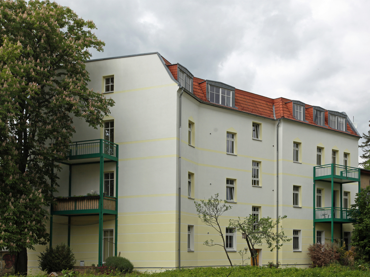 Hausansicht vom Hof | Hielscher Straße
