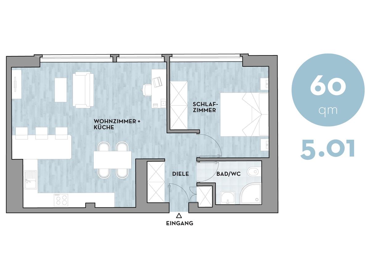 Floor plan 501 | Dorotheenstraße