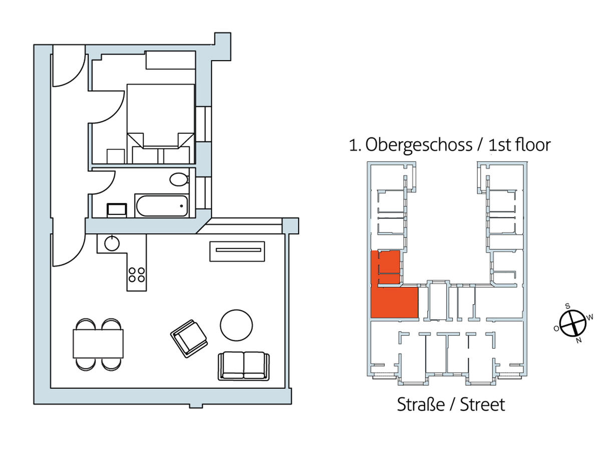Floor plan Unit 15 | Hasenheide