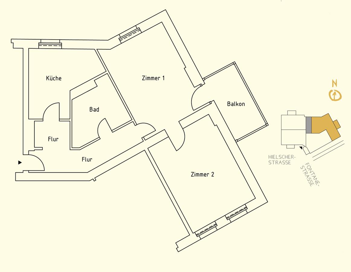Floor plan unit 07   Hielscher Straße