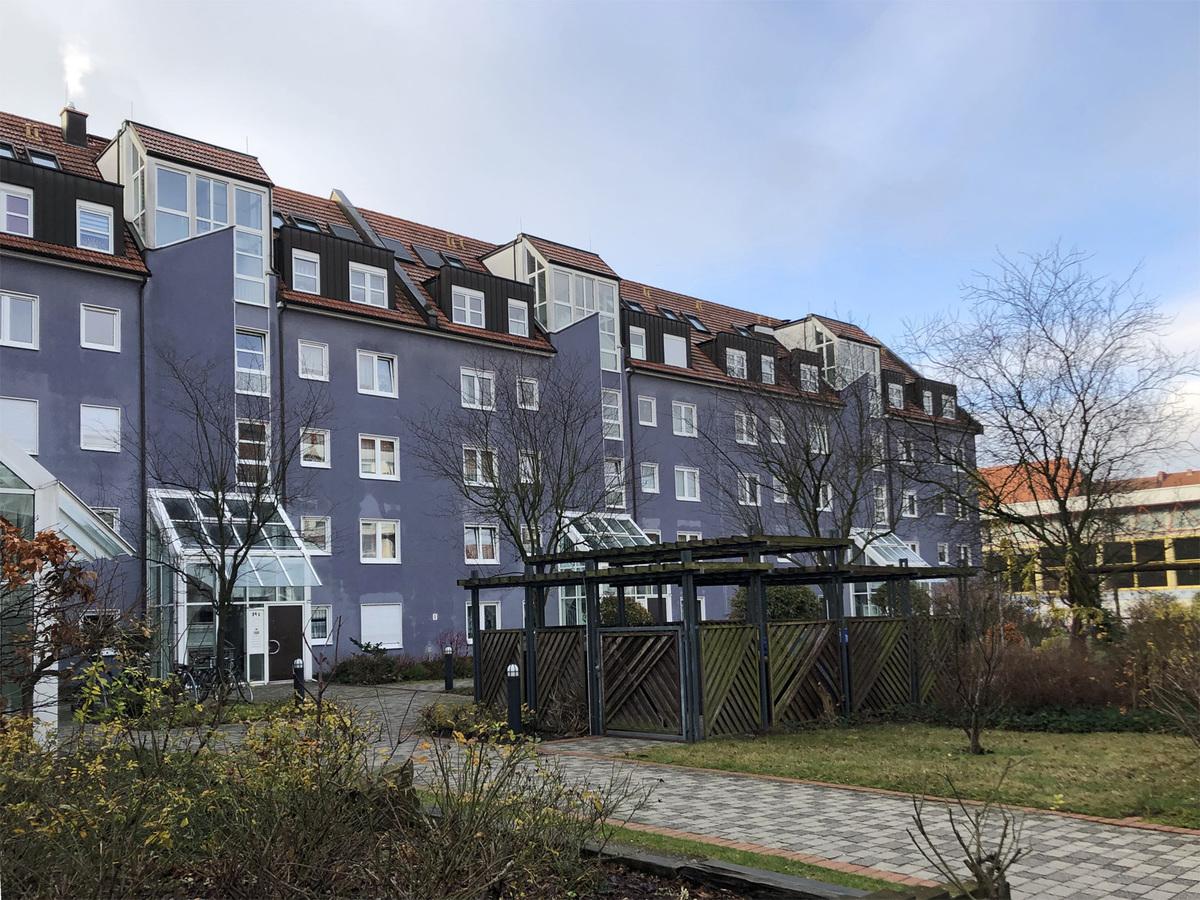 Rückseite Gebäude   Parkstraße