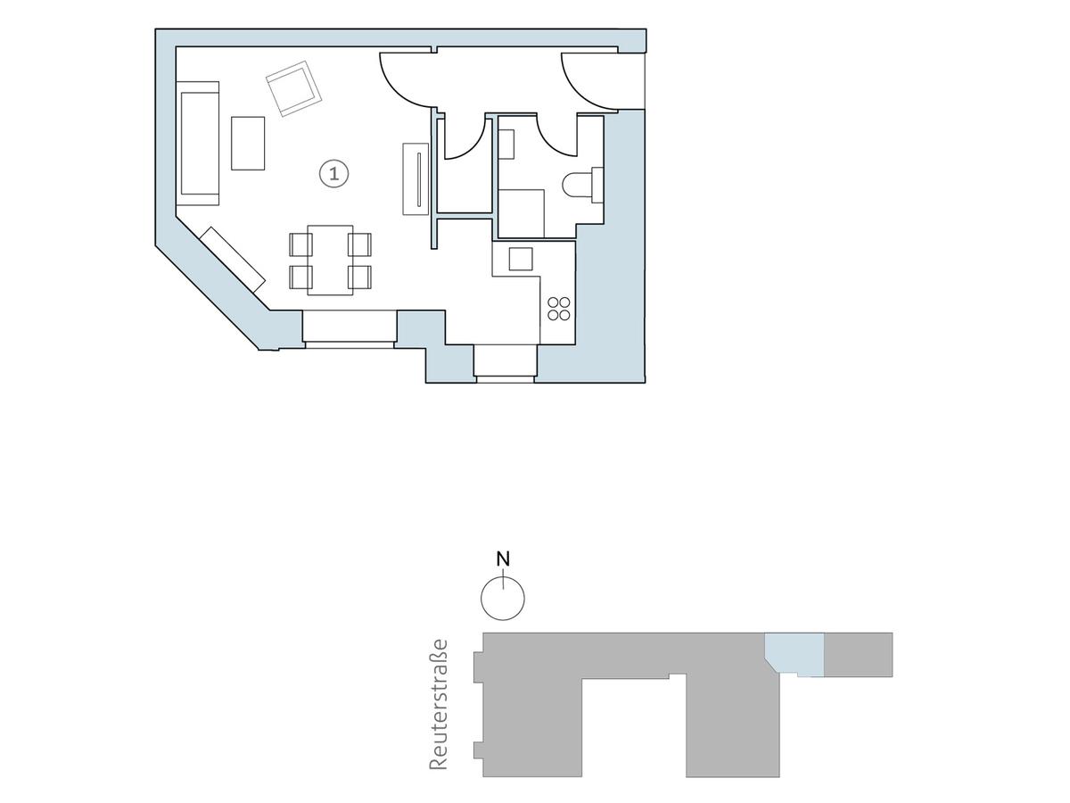 Floor plan unit 36 | Reuterstraße