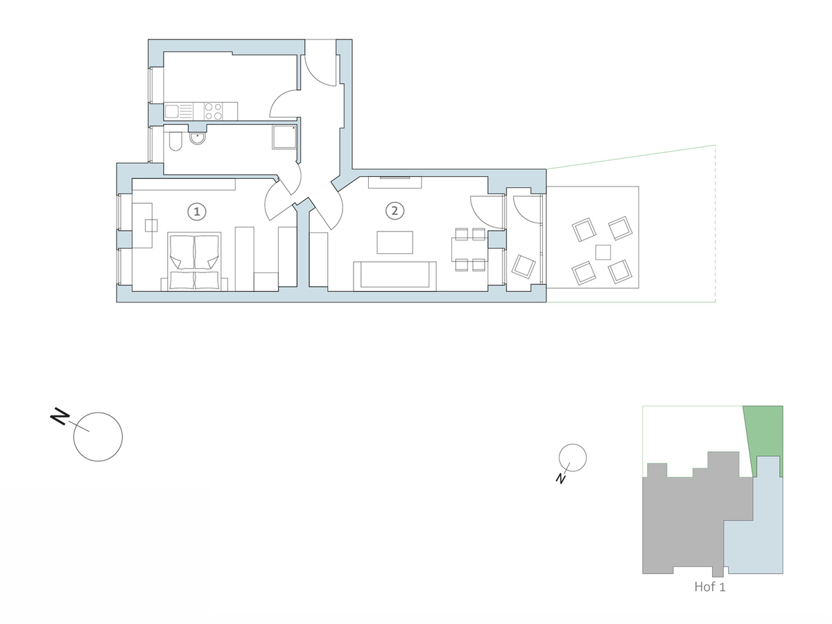 Floor plan no 15 | Binzstraße