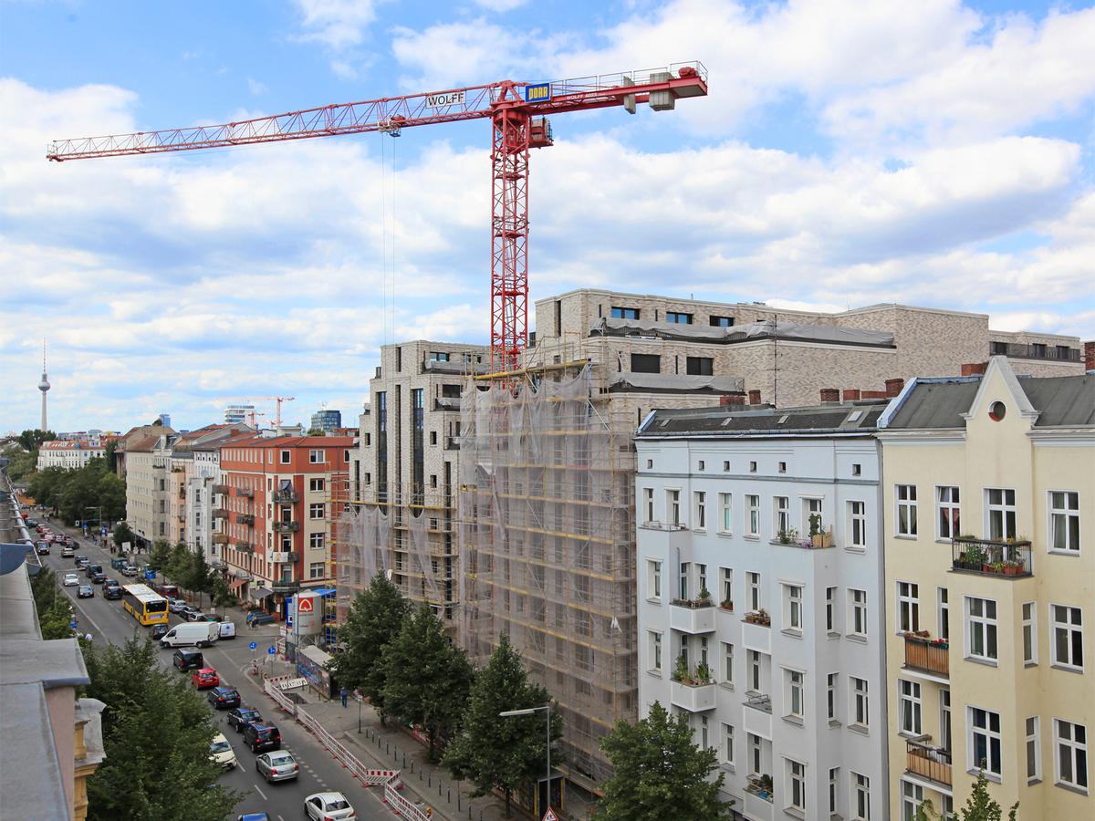 View | Schlesische Straße