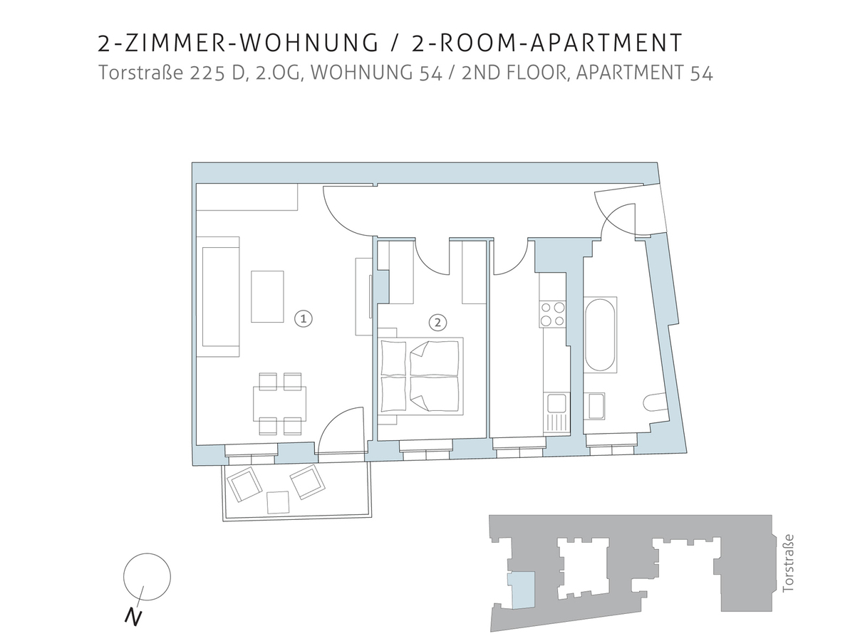 Floor plan unit 54 | Torstraße