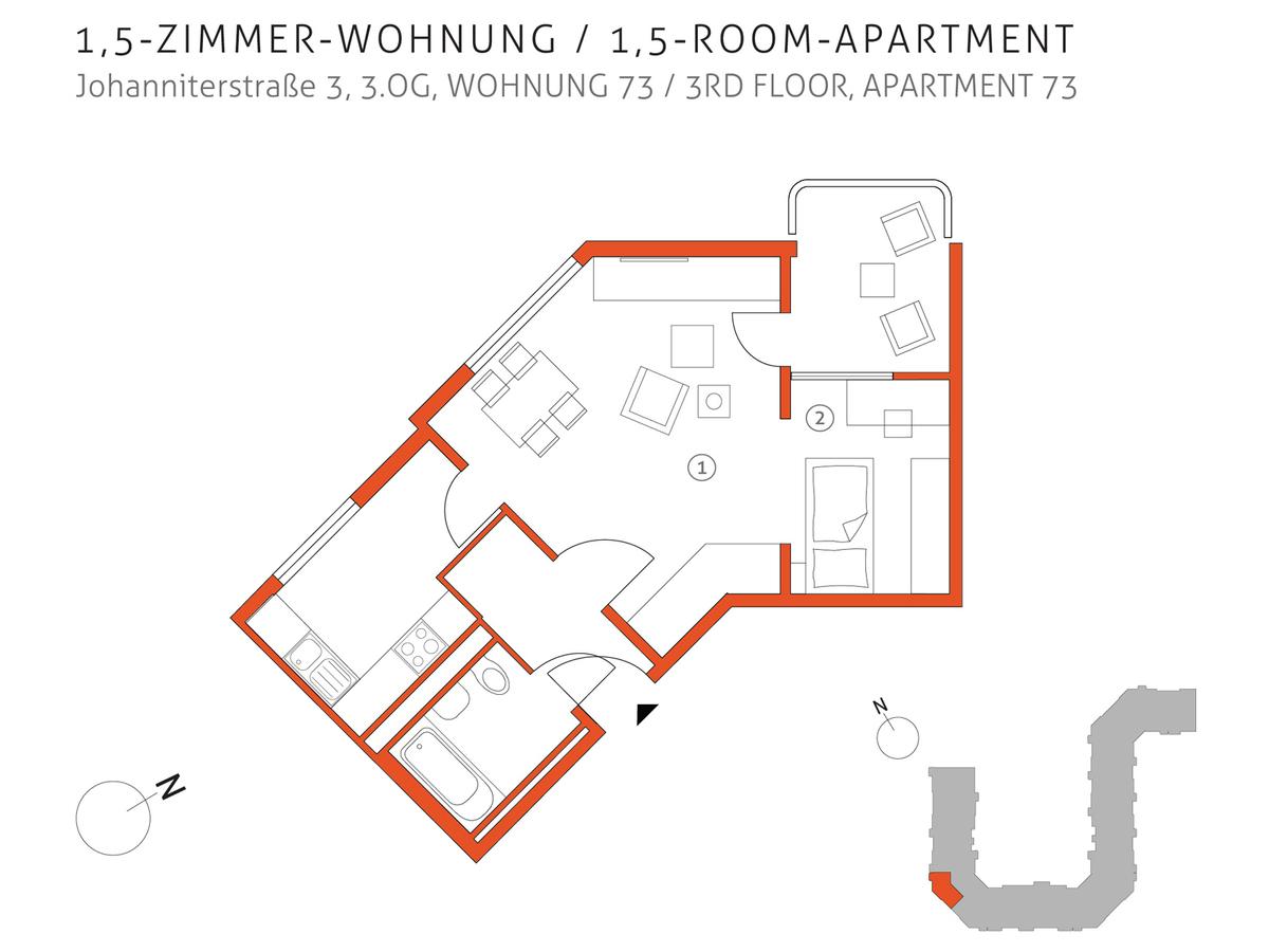 Grundriss 73 | Johanniterstraße