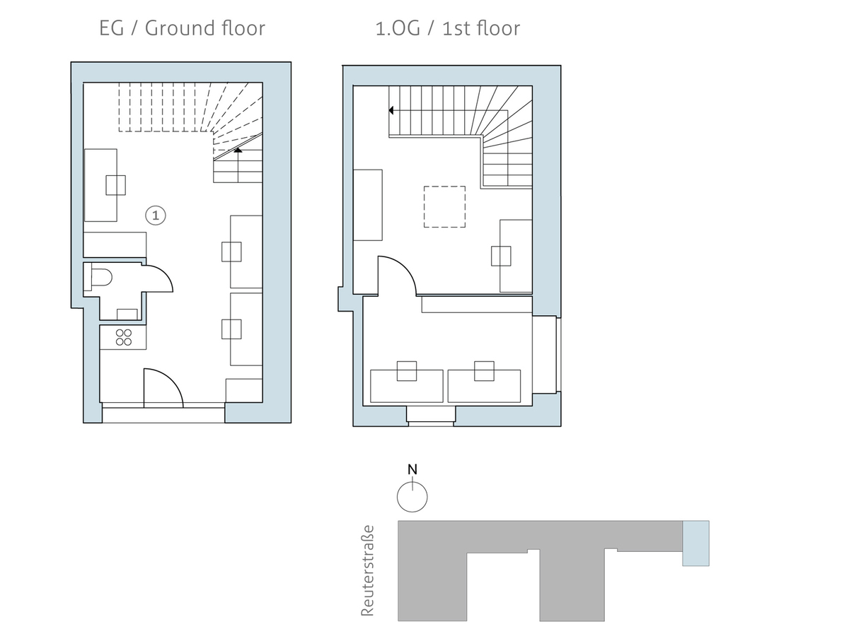 Floor plan unit 44 | Reuterstraße
