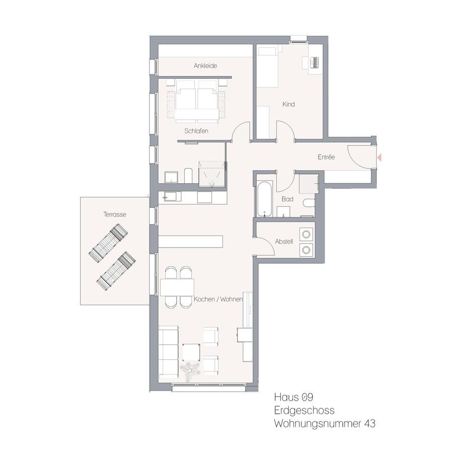 Haus 09 EG WE43 | Hauptstraße