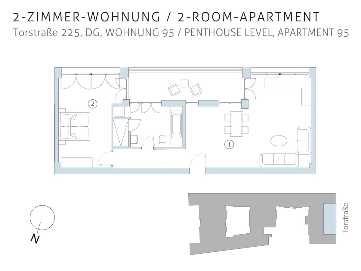 Floor plan unit 95 | Torstraße
