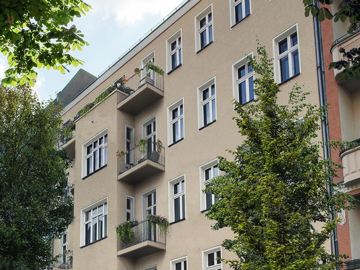 Visualisierung Fassade | Lenbachstraße