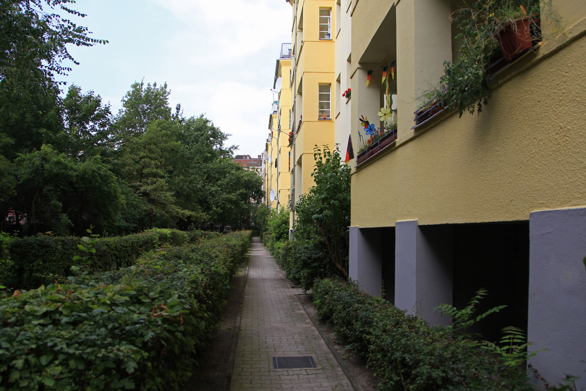 Hertastraße Neukölln Hof | Hertastraße
