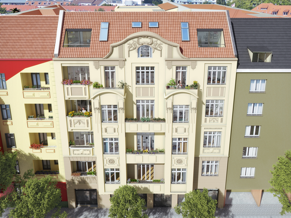Haus   Monumentenstraße