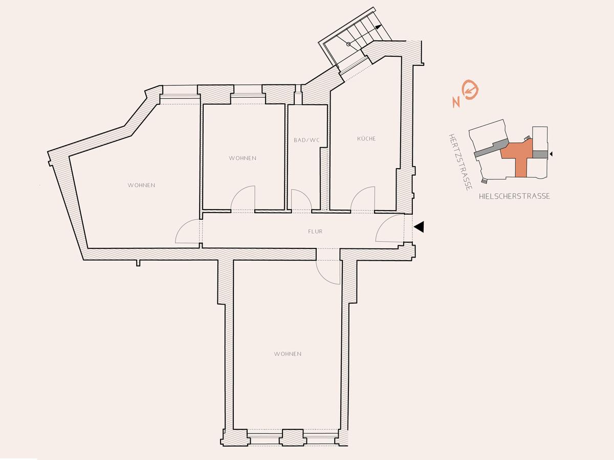 Floor plan unit 11 | Hertzstraße