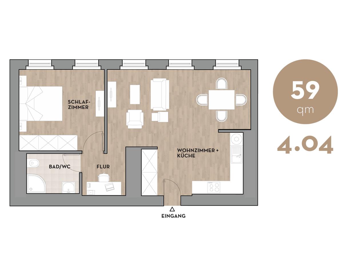Floor plan 404 | Dorotheenstraße