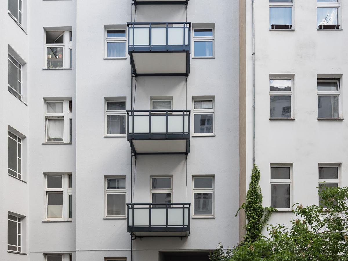 Courtyard facade   Erasmusstraße