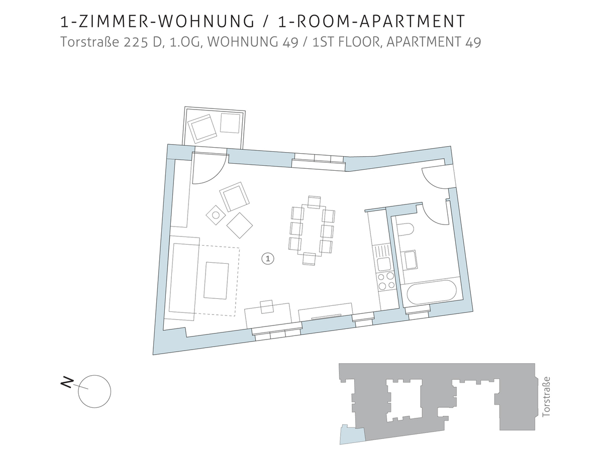 Floor plan unit 49 | Torstraße