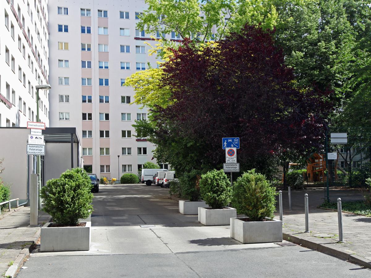 Gepflegter Hof | Mollstraße