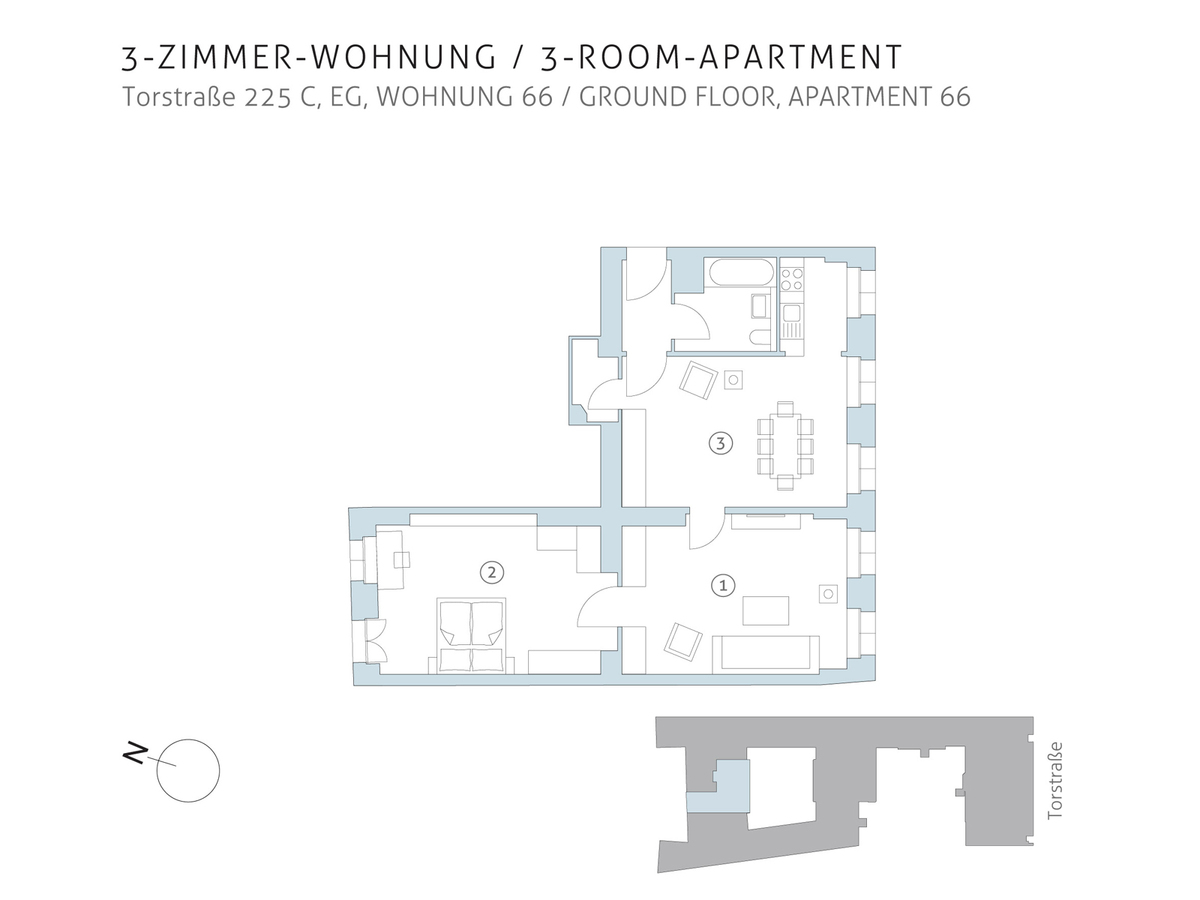 Floor plan unit 66 | Torstraße