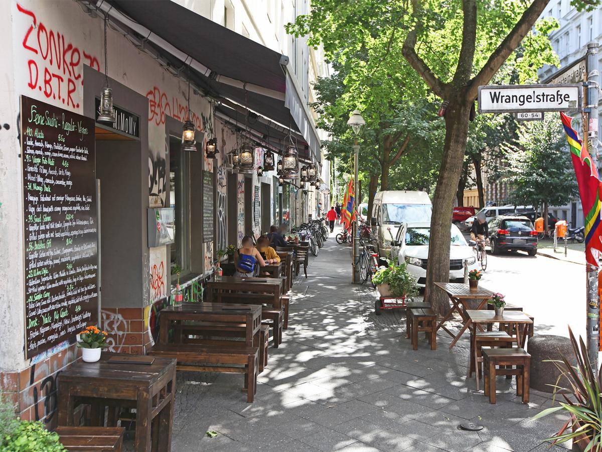 Wranglstraße | Schlesische Straße