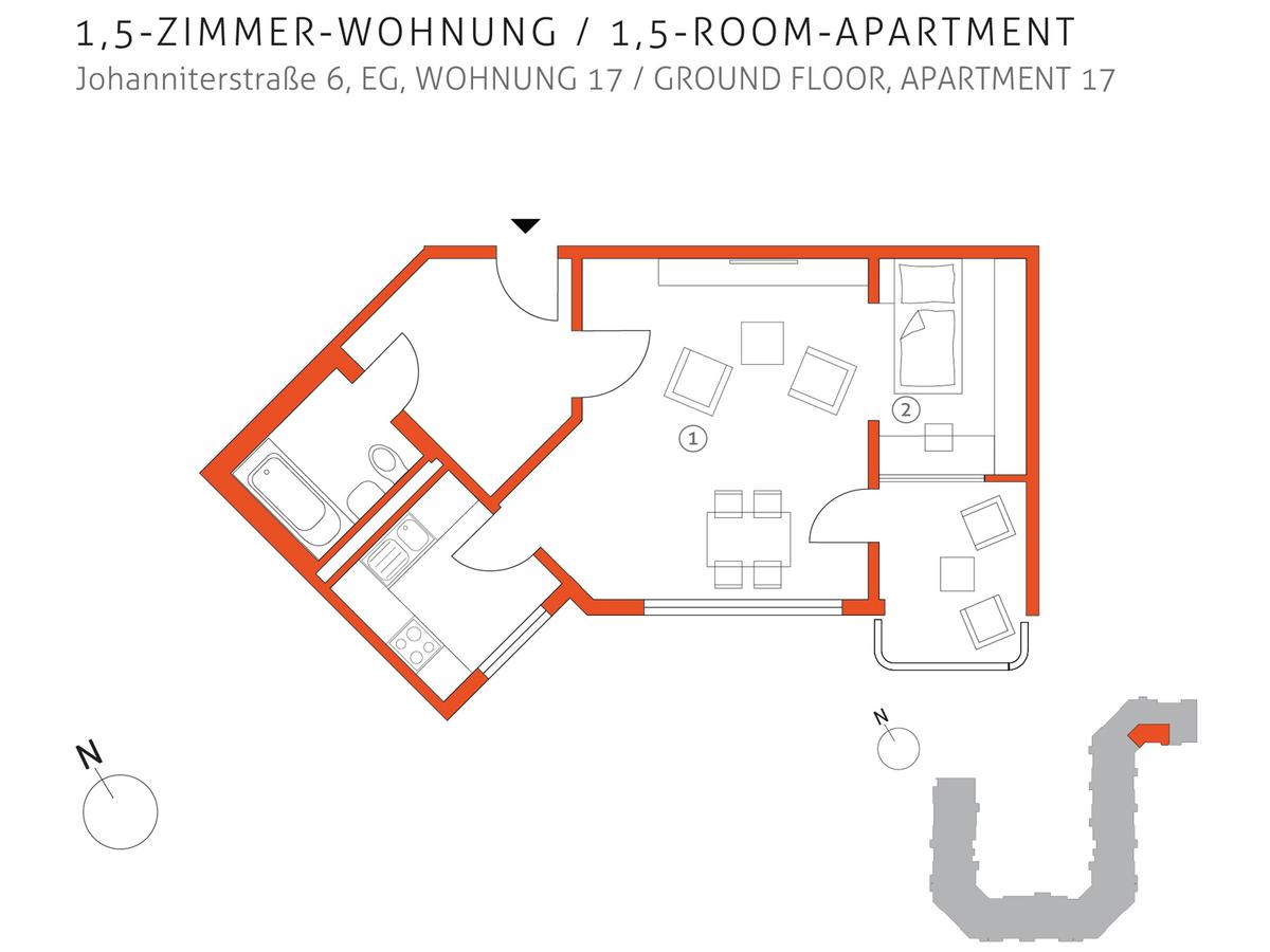 Grundriss 17 | Johanniterstraße