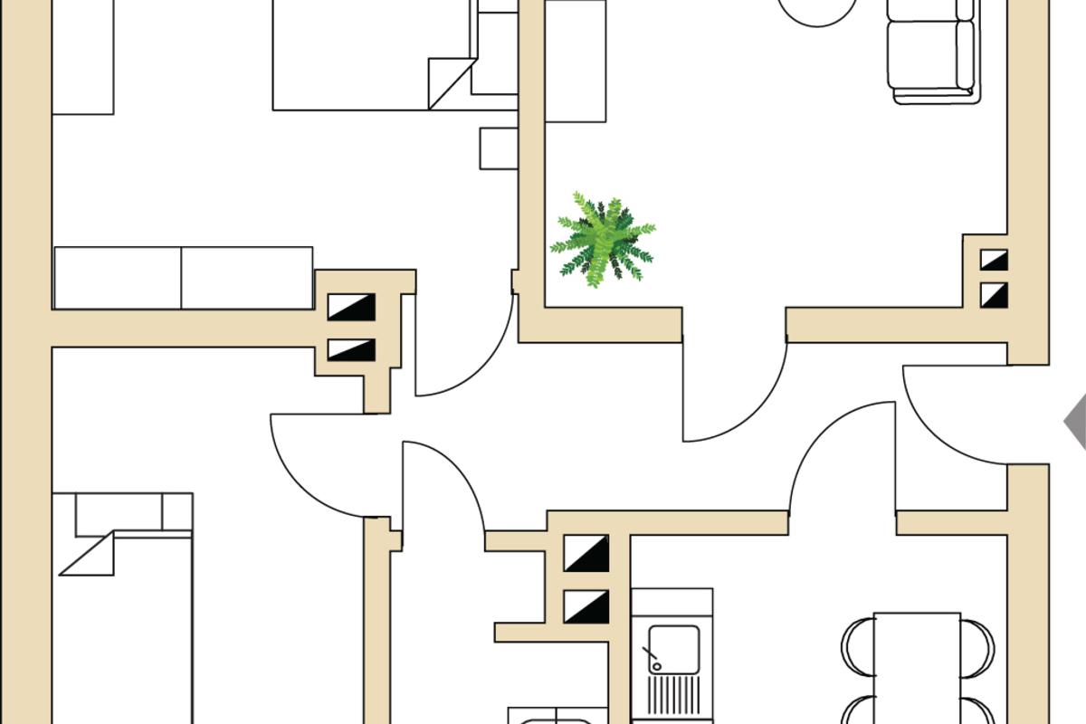 Grundriss 6_Straße der Einheit 10 | Straße der Einheit