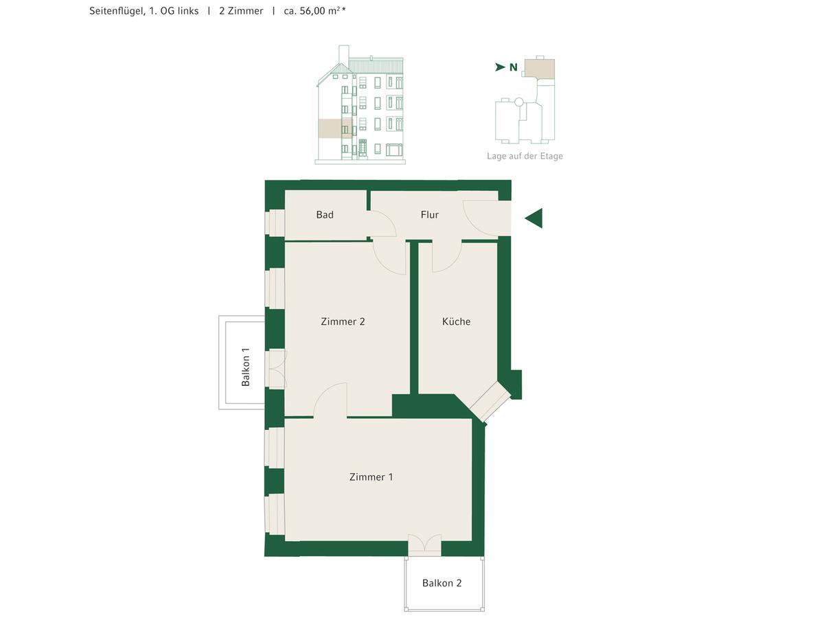 Floorplan Unit 11   Johannisberger Straße