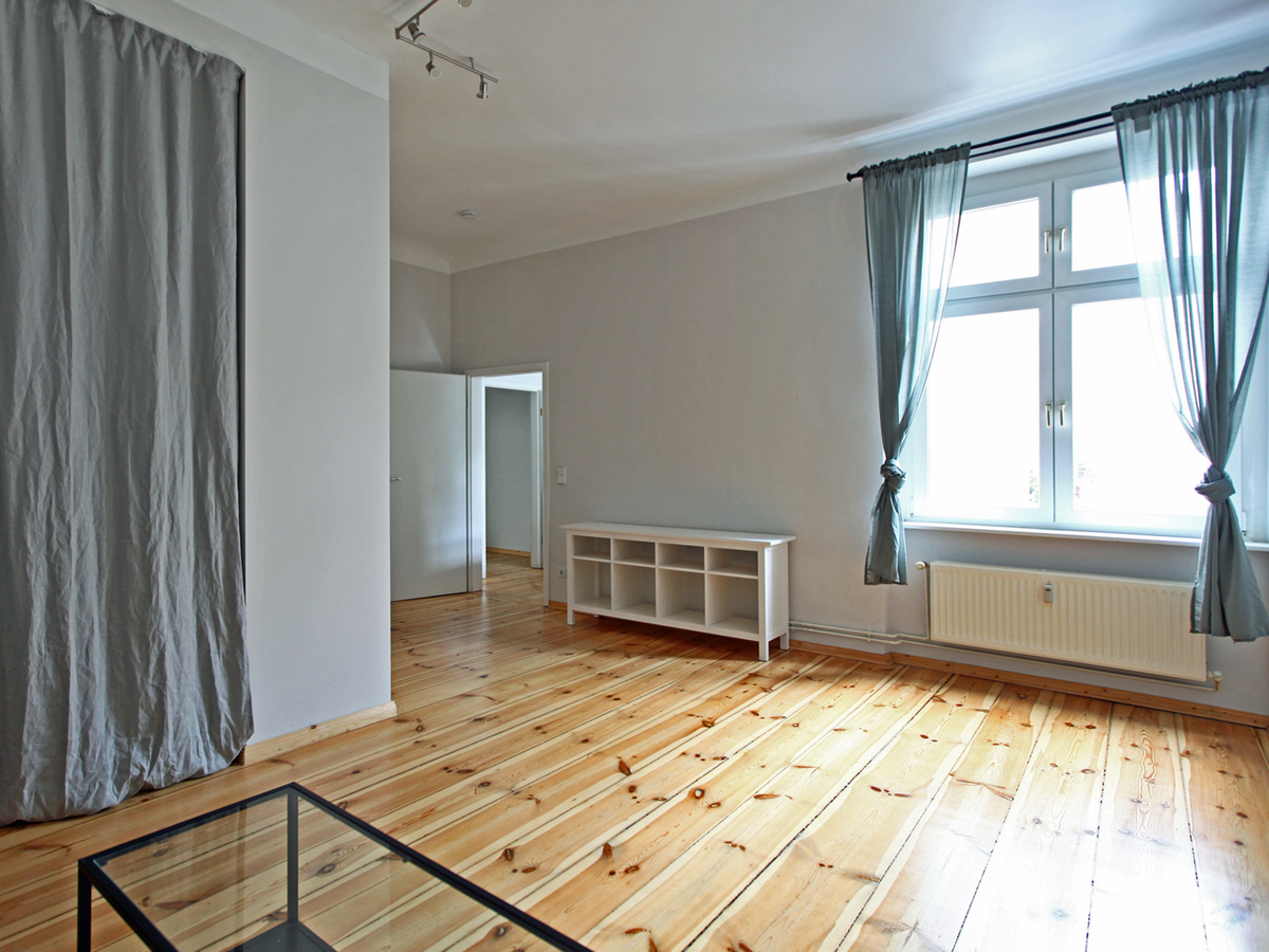 Wohnbereich mit Schlafnische | Malplaquetstraße