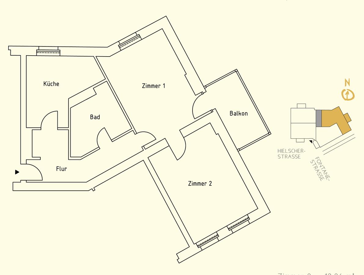 Floor plan unit 11 | Hielscher Straße