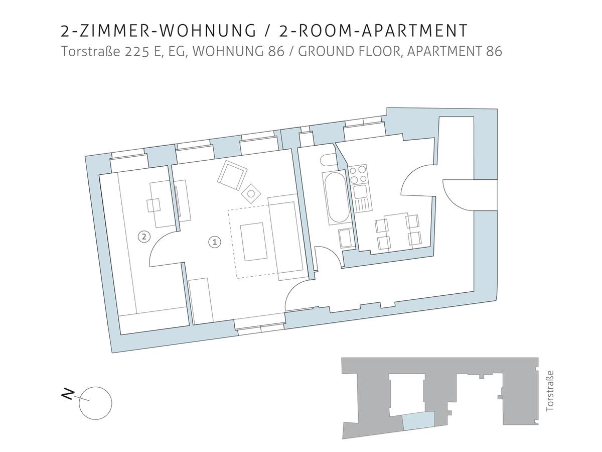 Floor plan unit 86   Torstraße