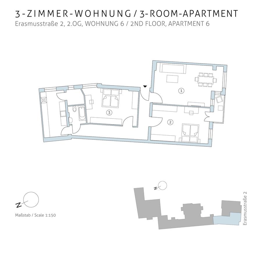 Grundriss 6 | Erasmusstraße