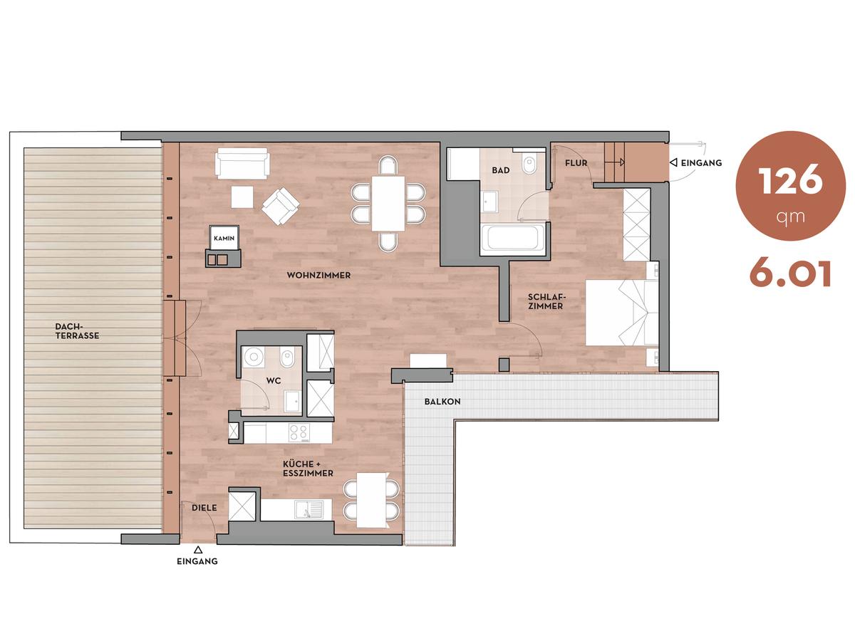 Floor plan 601 | Dorotheenstraße