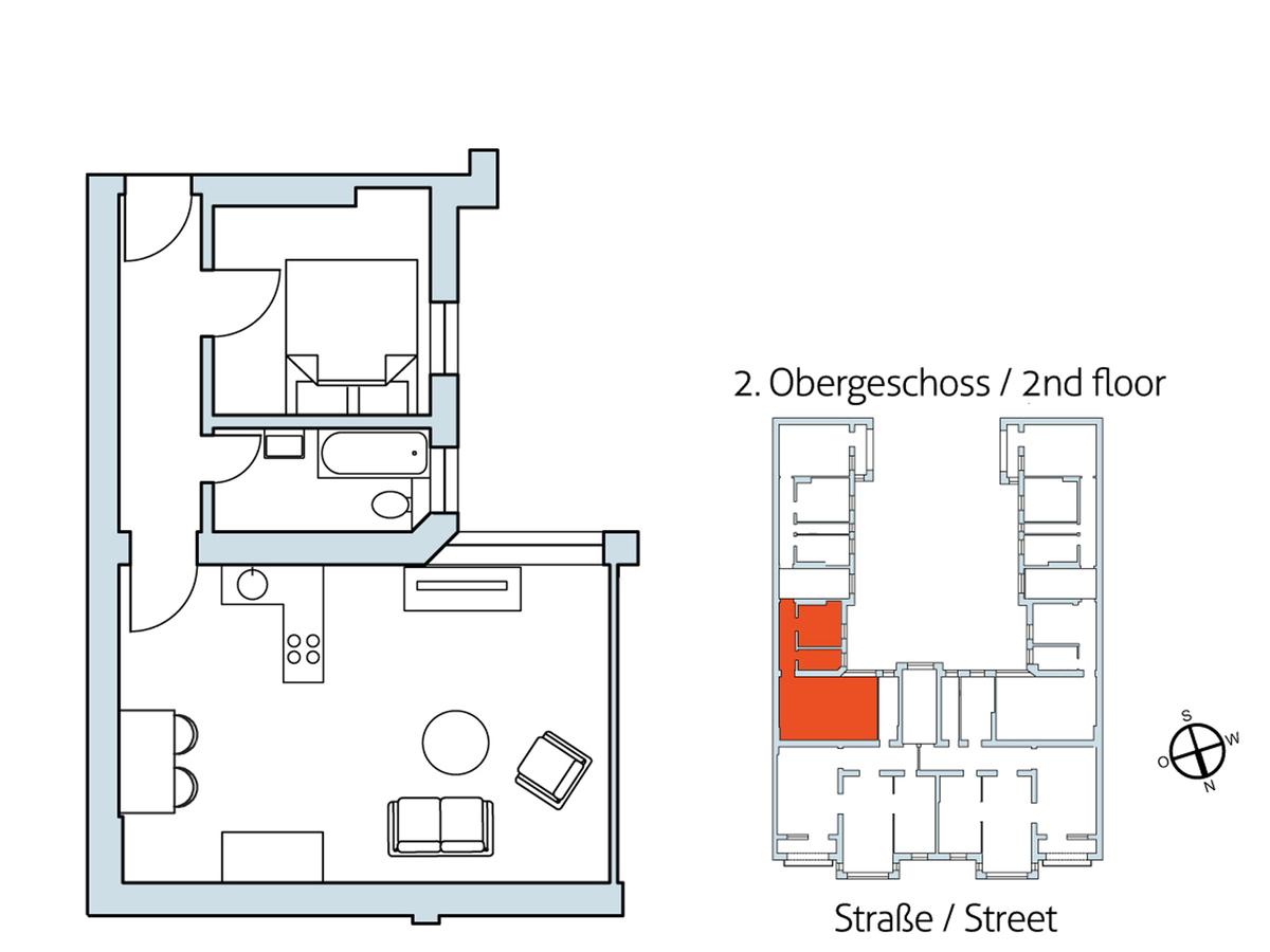 Floor plan Unit 17 | Hasenheide