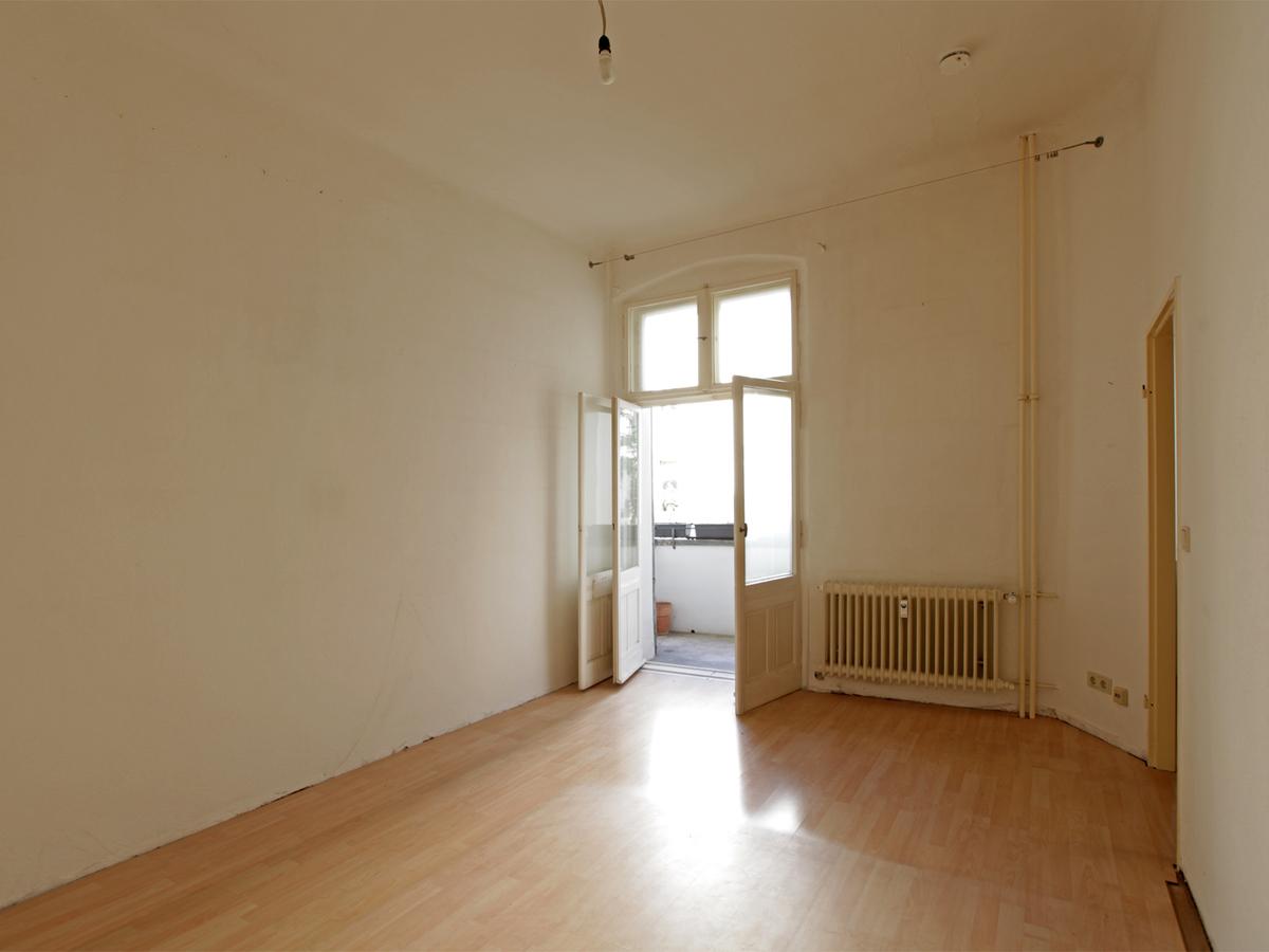 Zimmer mit Balkon | Niebuhrstraße