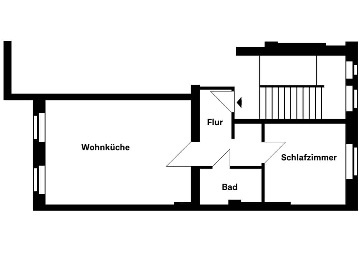 Grundriss | Dieffenbachstraße