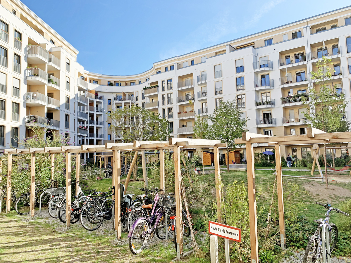Innenhof | Durlacher Straße