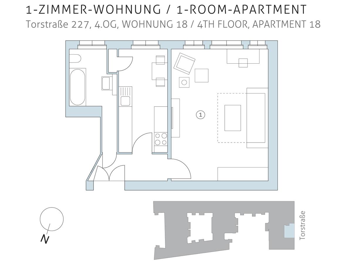 Floor plan unit 18 | Torstraße