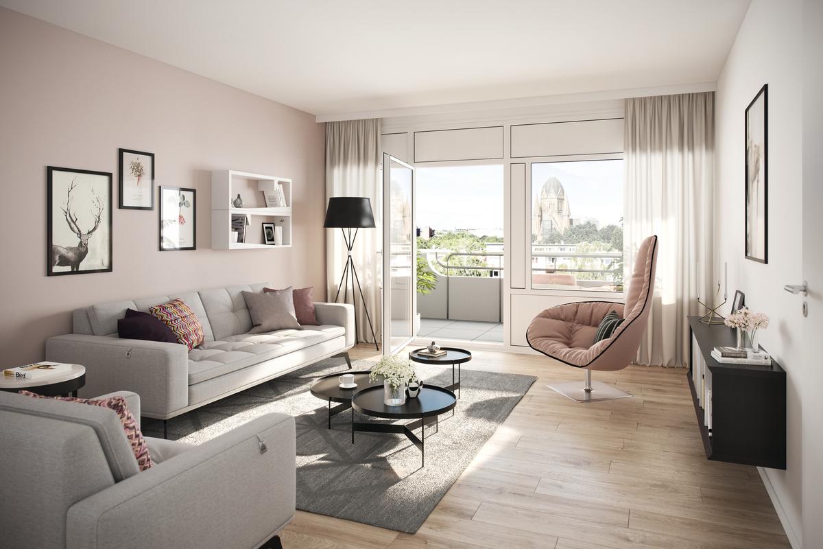 Example Living area | Johanniterstraße